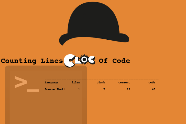 Like cloc-work: Counting Lines Of Code Is An Easy Way To Get Information On Shell Scripts
