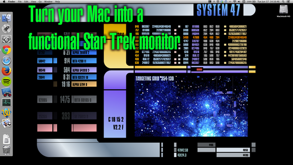 Turn Your Mac into a Functional Star Trek LCARS Terminal
