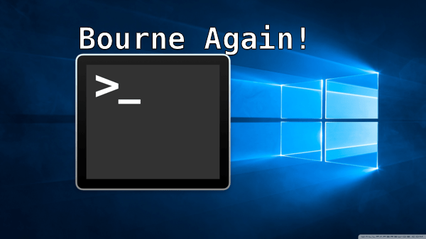 Windows 10 Is Bourne Again With A Linux Shell