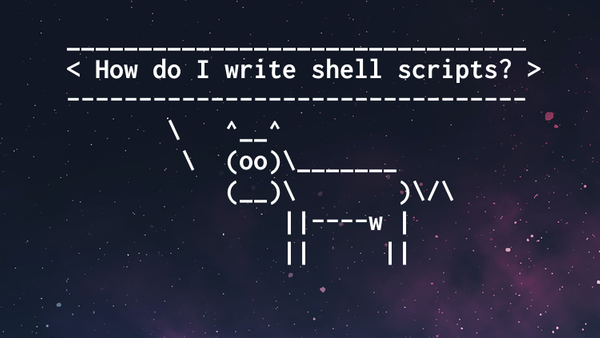 Would You Be Interested In A Shell Scripting Course?
